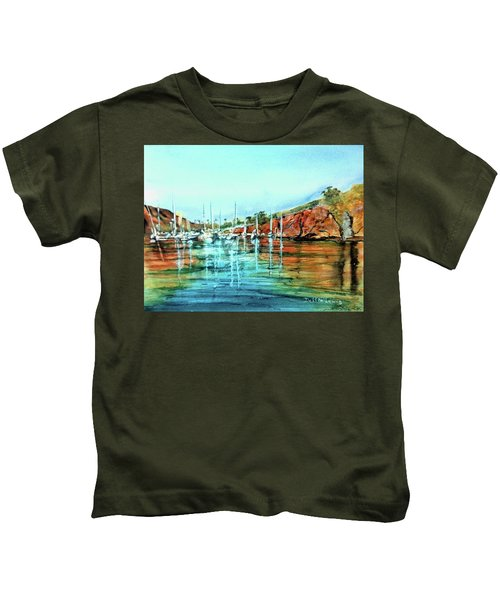 Two Harbors Catalina Morning Impressions Kids T-Shirt
