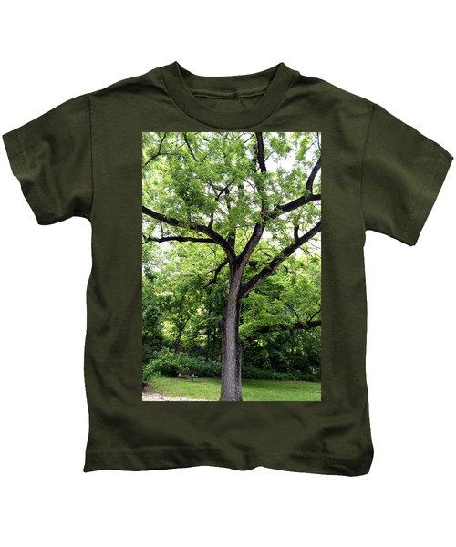 Two Tone Tree Kids T-Shirt