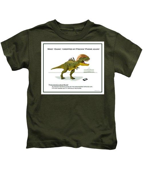 Tyrannosaurus Rump Kids T-Shirt