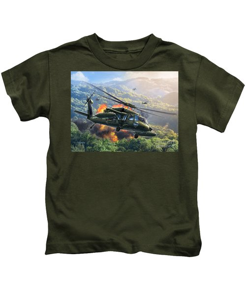 Uh-60 Blackhawk Kids T-Shirt