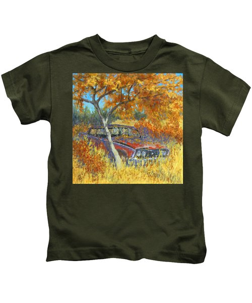 Under The Chinese Elm Tree Kids T-Shirt