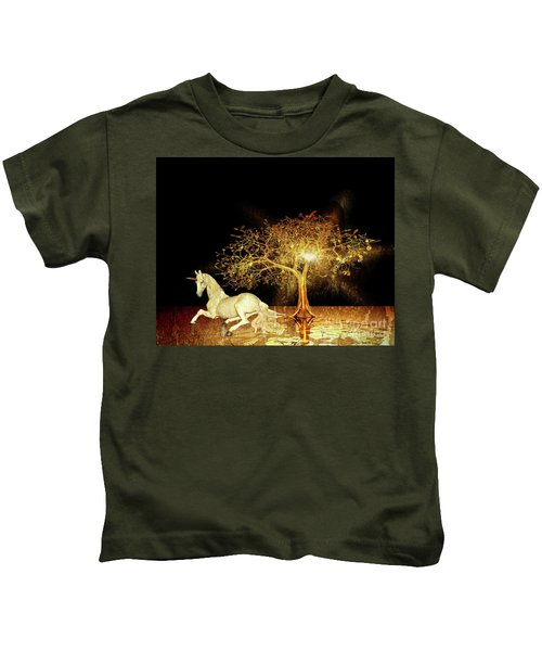 Unicorn Resting Series 1 Kids T-Shirt