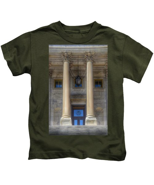 United States Capitol - House Of Representatives  Kids T-Shirt