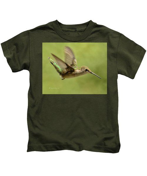 Untitled Hum_bird_one Kids T-Shirt