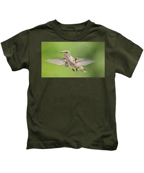 Untitled Hum_bird_three Kids T-Shirt