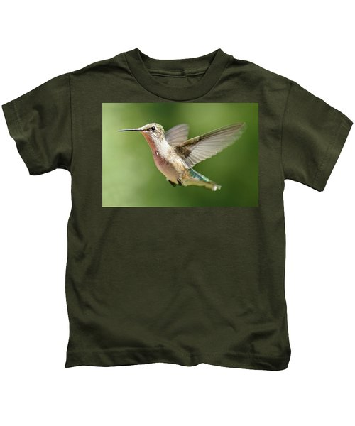 Untitled Hum_bird_two Kids T-Shirt