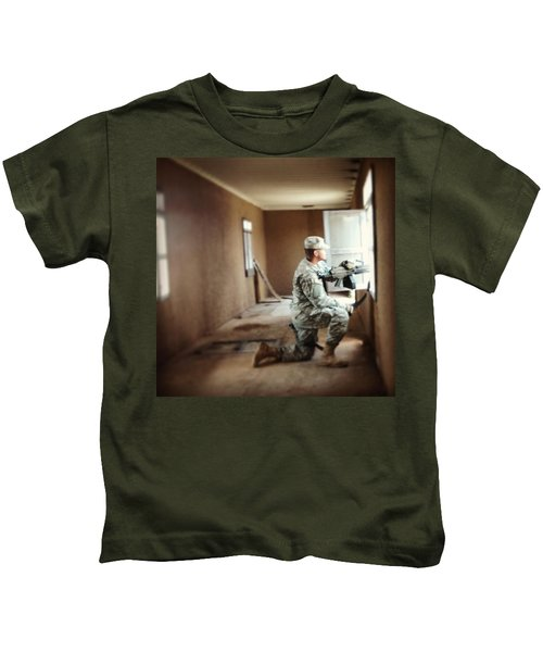Urban Ops Exercise. #military #police Kids T-Shirt
