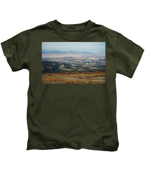 Utah A Patchwork Kids T-Shirt