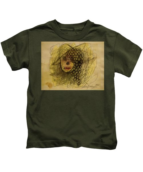 Uva Queen Of The Grapes Kids T-Shirt