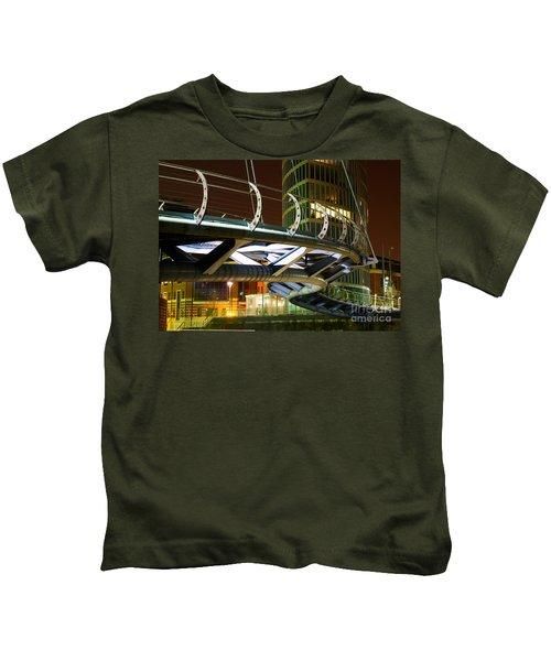 Valentines Bridge, Bristol Kids T-Shirt