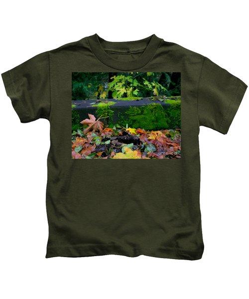 Varigated Fall Kids T-Shirt