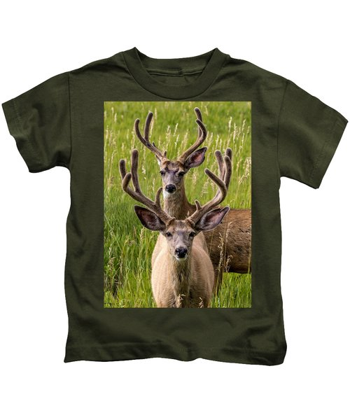 Velvet Bucks Kids T-Shirt
