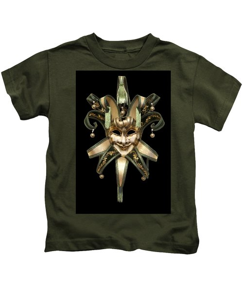 Venetian Mask Kids T-Shirt