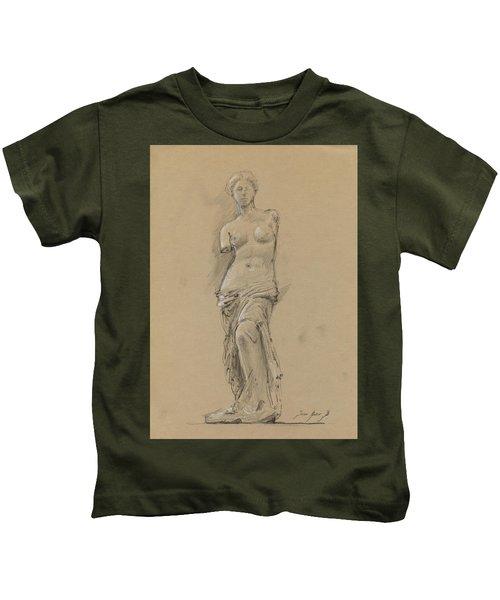 Venus De Milo Kids T-Shirt