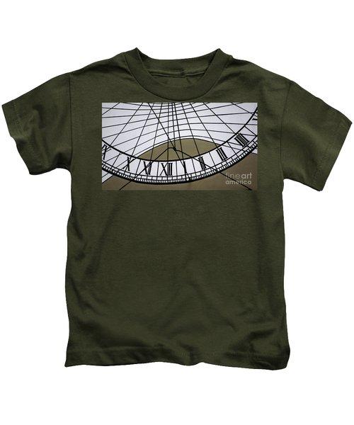 Vertical Sundial - Vertikale Sonnenuhr Kids T-Shirt