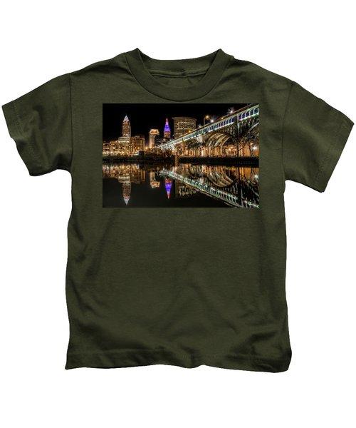 Veterans Memorial Bridge Kids T-Shirt