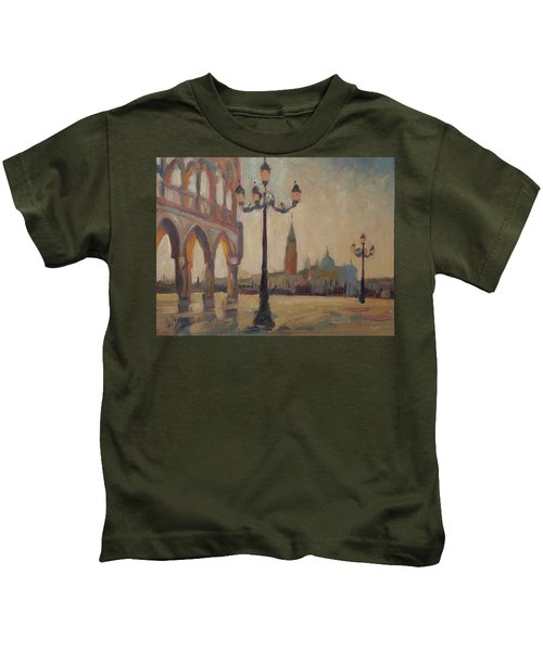 View From The Doge Palace Kids T-Shirt