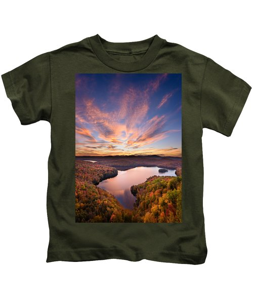 View From The Ledge Kids T-Shirt