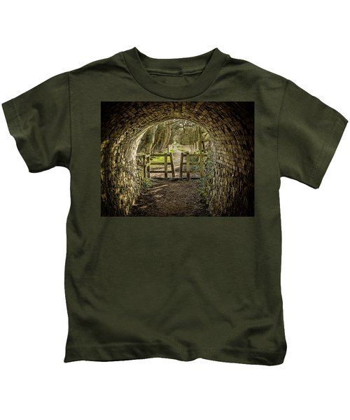 View From The Tunnel Kids T-Shirt