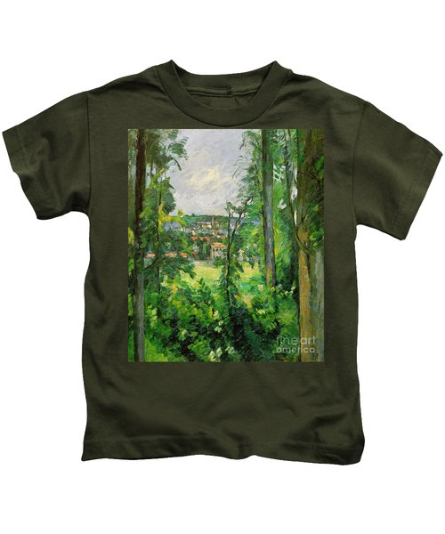 View Of The Outskirts Kids T-Shirt