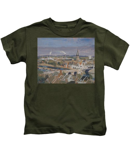 View To The East Bank Of Maastricht Kids T-Shirt