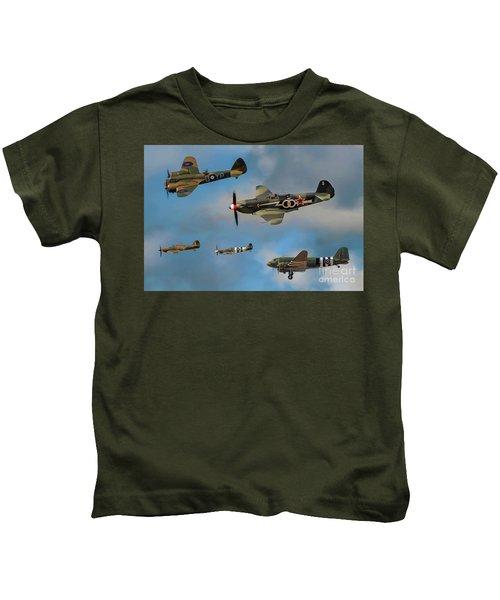 Vintage Aircraft Kids T-Shirt