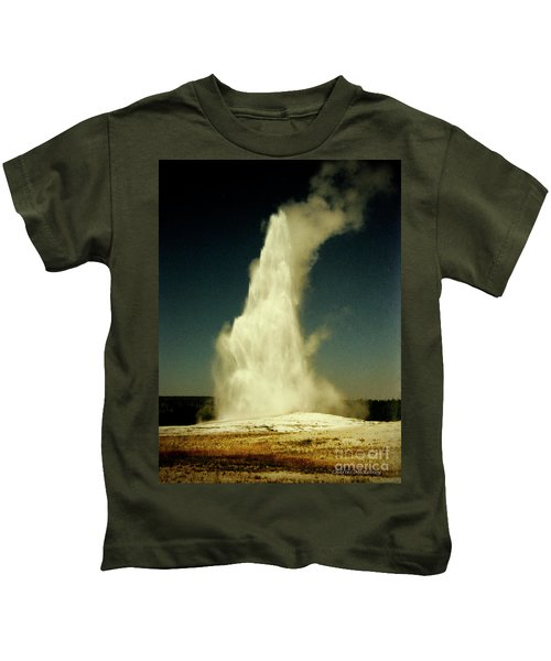 Vintage Old Faithful Kids T-Shirt
