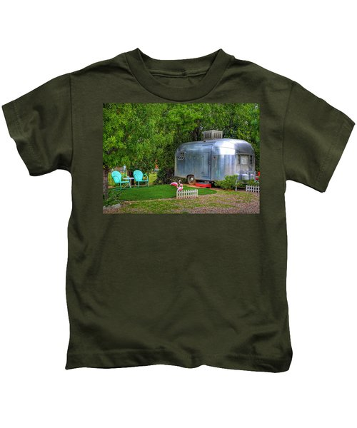 Vintage Trailer Kids T-Shirt