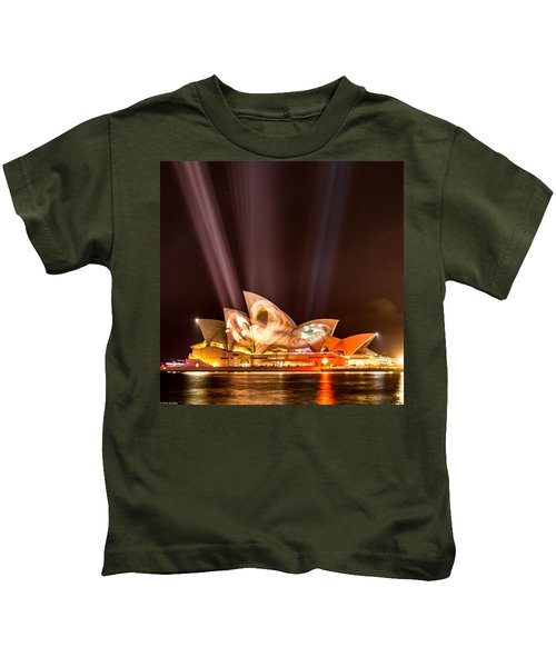 Vivid Opera House Kids T-Shirt