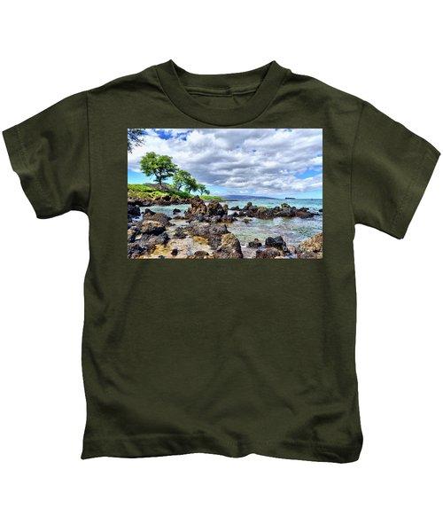 Wailea Beach #2 Kids T-Shirt