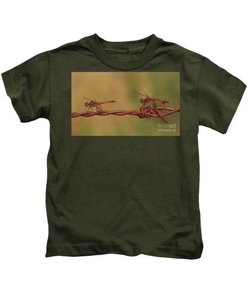Waiting For The Girls Kids T-Shirt