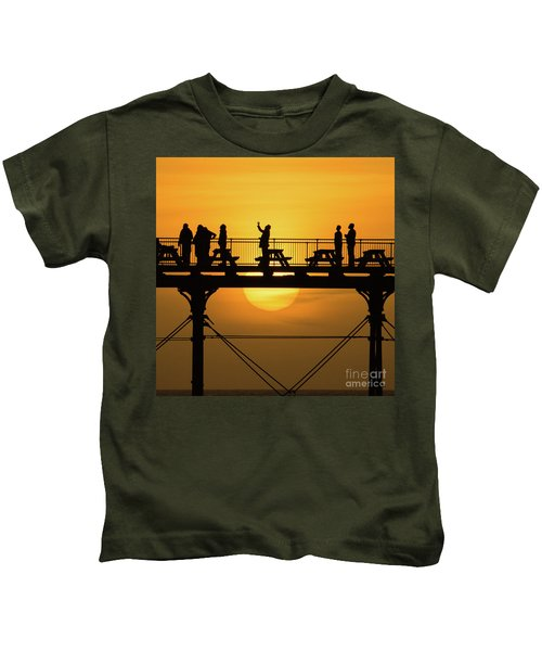 Waiting For The Sun Kids T-Shirt