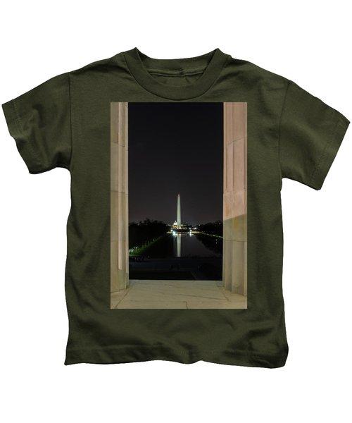 Washington Monument 2 Kids T-Shirt