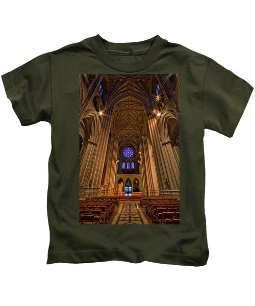 Washington National Cathedral Crossing Kids T-Shirt