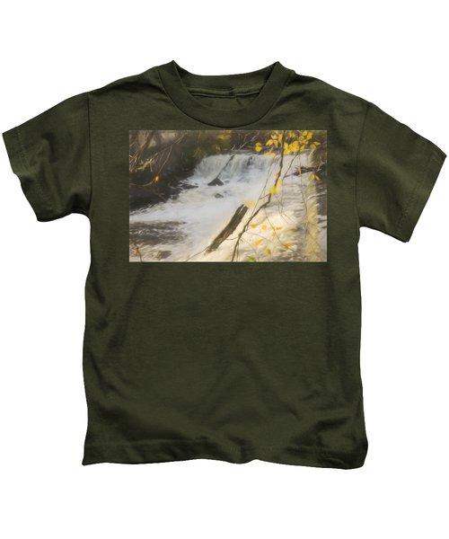 Water Over The Dam. Kids T-Shirt