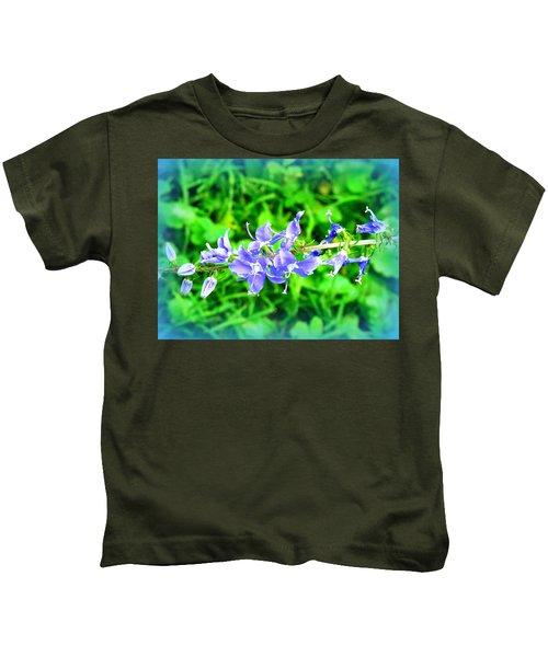Watercolor Blooms Kids T-Shirt