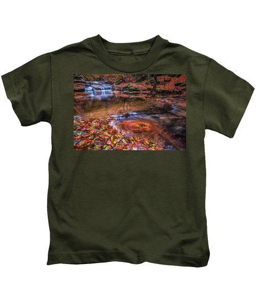 Waterfall-4 Kids T-Shirt