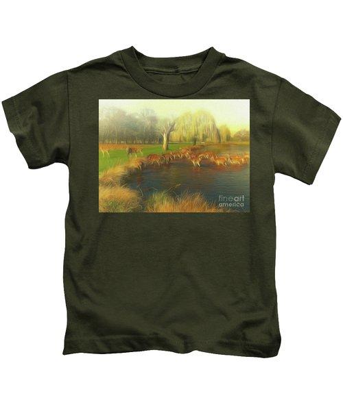 Watering Hole Kids T-Shirt