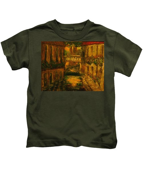Waters Of Europe Kids T-Shirt