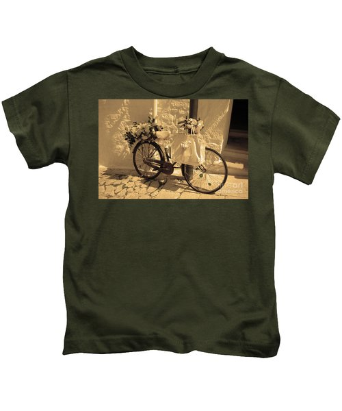 Wedding Bike Kids T-Shirt