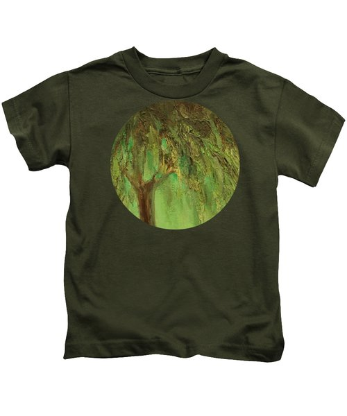 Weeping Willow Kids T-Shirt