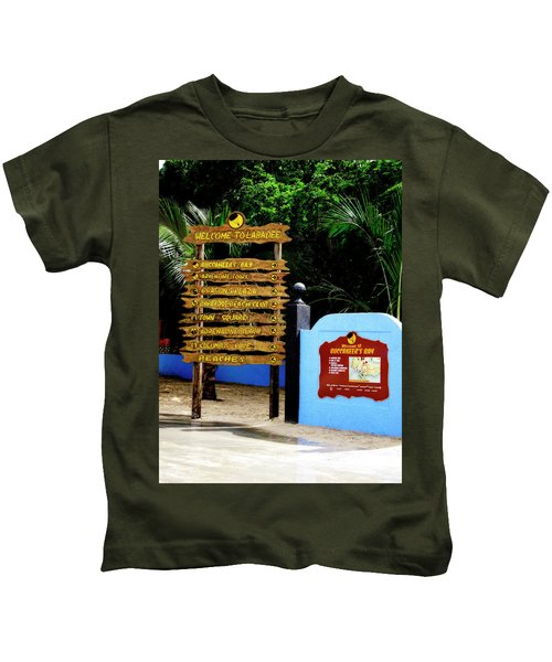 Welcome To Labadee Kids T-Shirt
