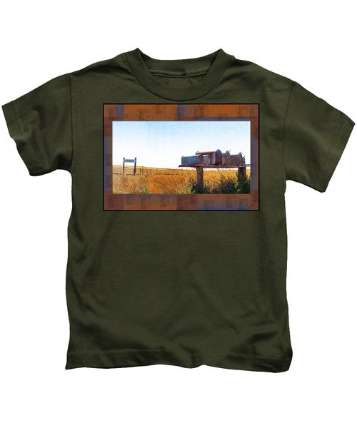 Welcome To Portage Population-6 Kids T-Shirt