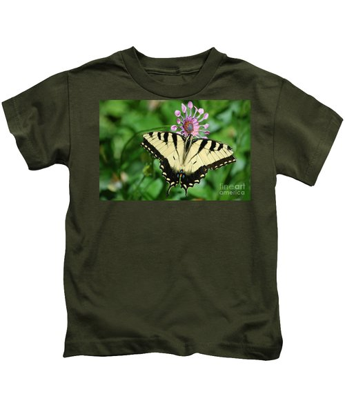 Western Tiger Swallowtail Kids T-Shirt