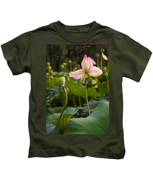 Wetland Flowers Kids T-Shirt
