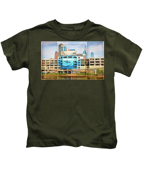Whales In The City Kids T-Shirt