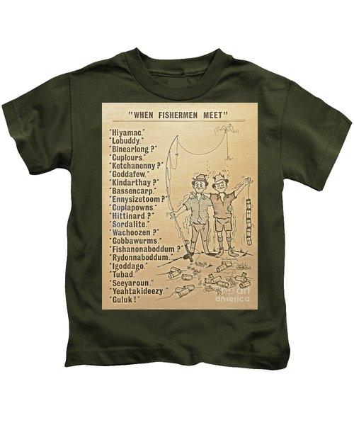 When Fishermen Meet Kids T-Shirt