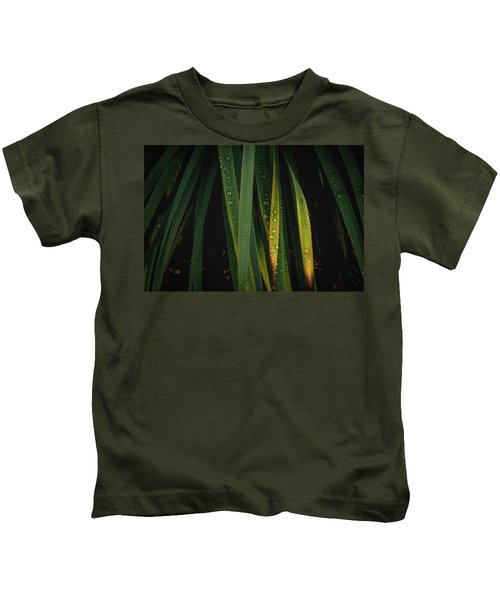 When It Rains Kids T-Shirt