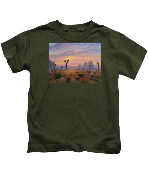 Where The Sun Sets Kids T-Shirt