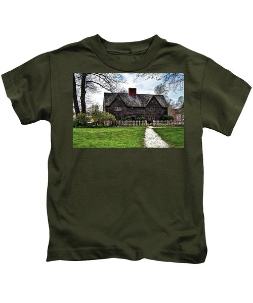 The John Whipple House In Ipswich Kids T-Shirt